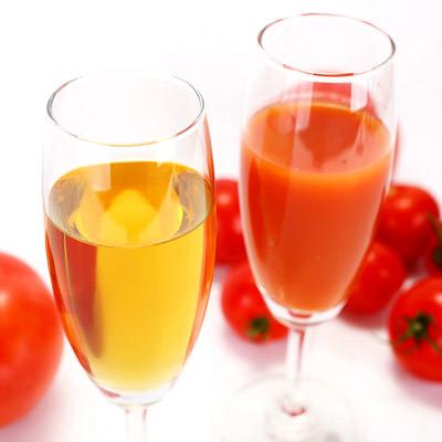 健康を気遣う方にぴったりな贈り物!縁起の良い紅白のトマトジュース