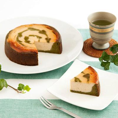 静岡緑茶とマクロビのコラボ!お茶のN.Y豆腐チーズケーキ