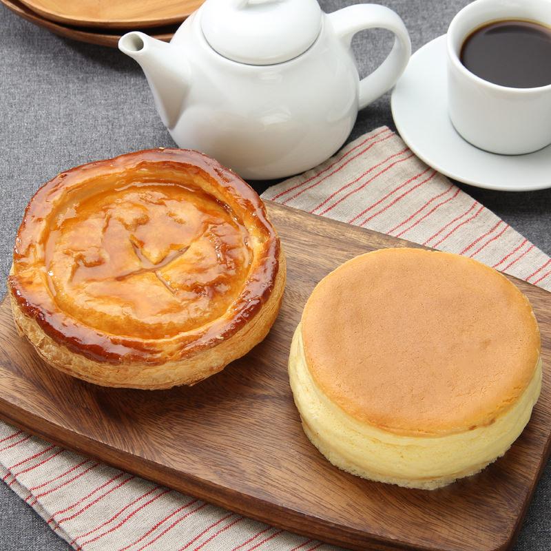 Wで楽しめます!濃厚なオホーツクのチーズケーキ&しっとりしたアップルパイ