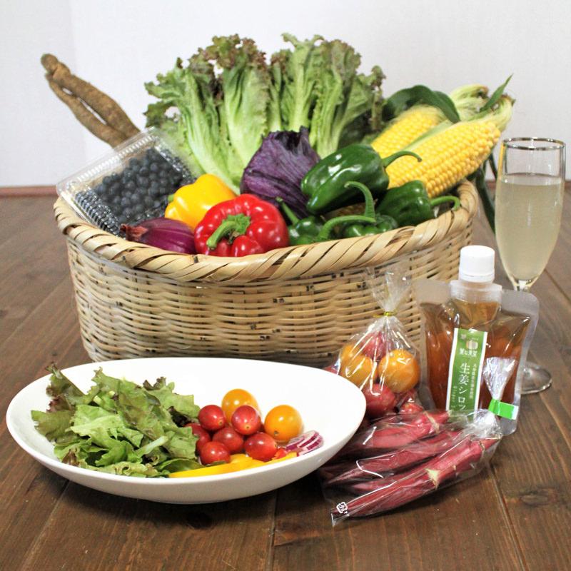 大分県で人気のおいしい野菜の店からお届けする野菜ボックス!