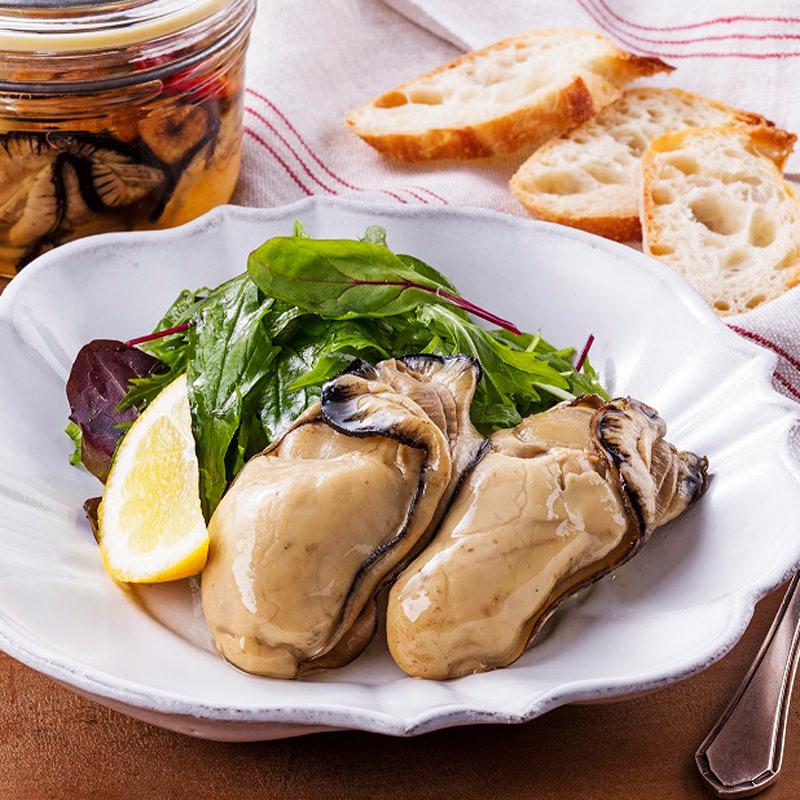 三陸産の真牡蠣燻製