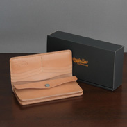 LEATHER PLAIN LONG WALLET キャッスルファイブレザーアート株式会社・秋田県