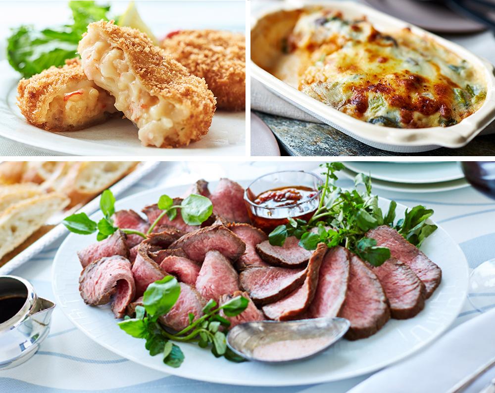 食卓を華やかに彩るこだわりの冷凍料理