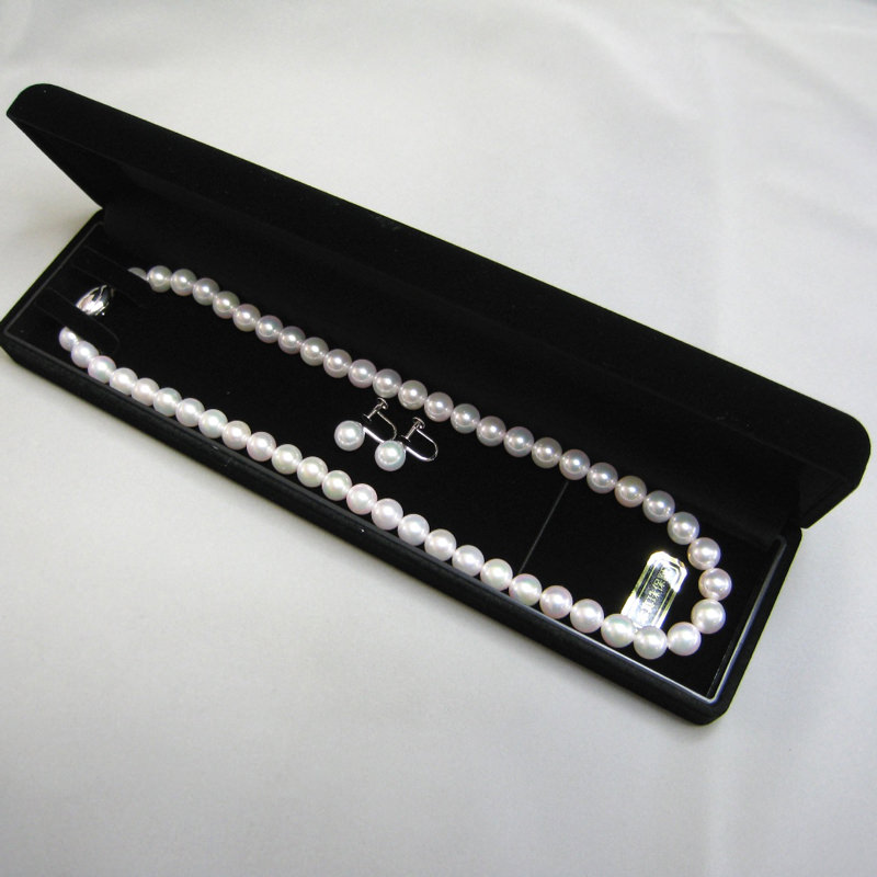 あこや真珠ネックレスとイヤリングのセットを特別価格で!プレゼントにも!
