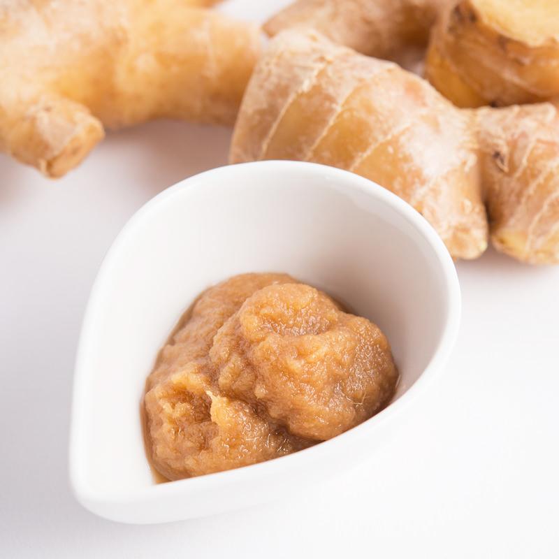 熊本県産の無農薬の生姜を発酵させてつくった発酵食品